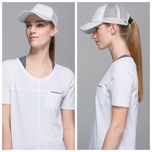 Lululemon WhatSUP Hat Nimbus Puff White